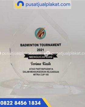 Plakat Badminton Tournament